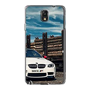 Premium Bmw M3 E92 White Back Covers Snap On Cases For Galaxy Note3