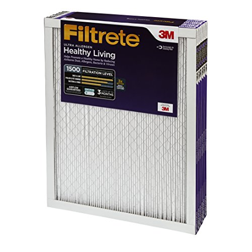 051111020029 - 20x20x1, Filtrete Ultra Allergen Reduction Furance Filter Air Filter, MERV 11, by 3m (Pack of 6) carousel main 1