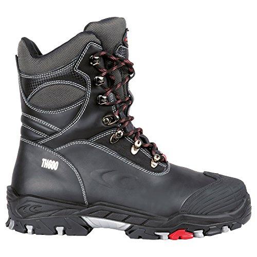 Cofra 25312-001 - Invierno Seguridad Bota S3 Bering para arriba, caliente forrado con aislamiento Botas de trabajo, tamaño 43, Negro