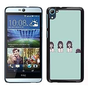 Dragon Case - FOR HTC Desire D826 - Life is like a play - Caja protectora de pl??stico duro de la cubierta Dise?¡Ào Slim Fit