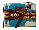 Pendleton Women's Wallet on a Strap, Tucson Turquoise, One Size