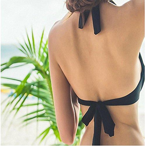 HTWWJ Pequeño Pecho Reúne Tres Juegos De Bikini , xxl , single bikini two piece m