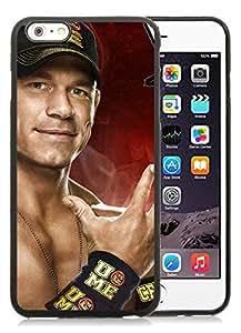 WWE John Cena Black iPhone 6 Plus 5.5 inch TPU Cellphone Case Luxurious and Newest Design