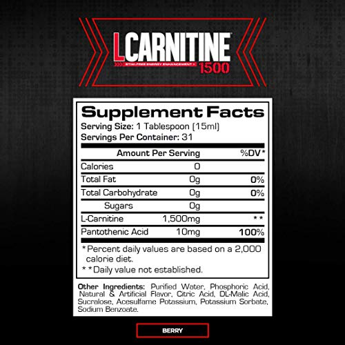 ProSupps L-Carnitine 1500 Liquid Fat - tiendamia.com