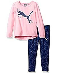 PUMA Girls Girls' Two Piece Top and Legging