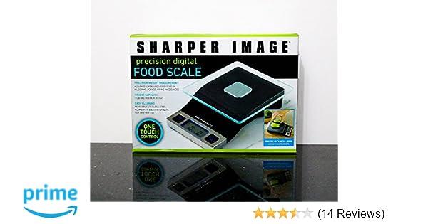 Amazoncom Sharper Image Precision Digital Food Scale Kitchen Dining