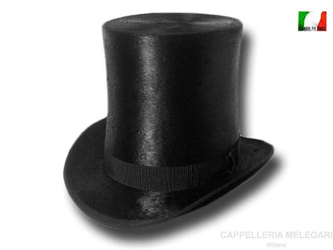 Cappello a cilindro a tuba Verdi 19 cm Melousine  Amazon.it  Handmade a17ccca080b4