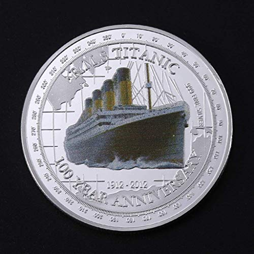 (100 Year Anniversary Titanic Gold Plated Coin Commemorative & Collectable Gift)