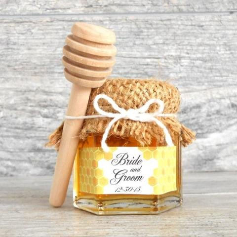 48 (3 1/4'') Mini Honey Dippers - For 1oz-3oz Size Jars by Red Barn Farm of Maine (Image #3)
