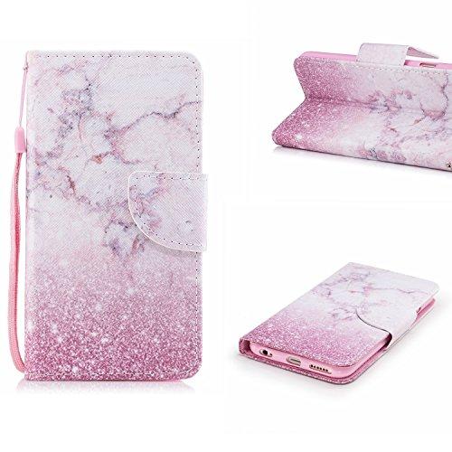 Qiaogle Teléfono Case - Funda de PU Cuero Billetera Clamshell Carcasa Cover para Samsung Galaxy J5 (2017) / J530 (5.5 Pulgadas) - HX77 / Gato HX81 / Natural Paisaje