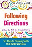 Following Directions (Grades 3-6 + SPED)