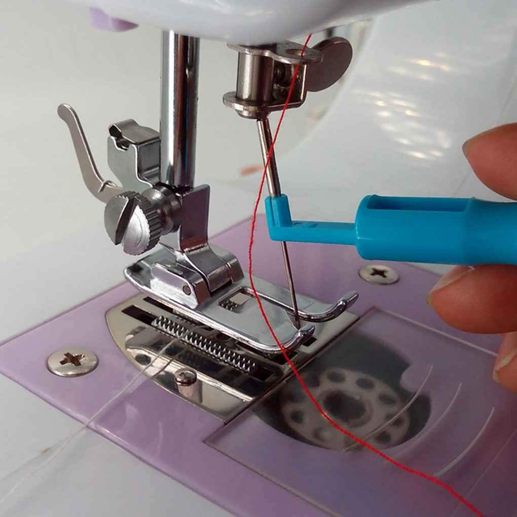 Ogquaton Enhebrador de Aguja Inserto de Aguja Cambio de Herramientas de Costura Enhebrado de Accesorios