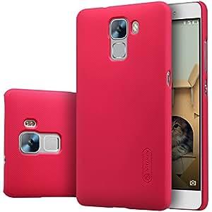 Huawei Honor Play 5X / Enjoy 5 case, KuGi ® High quality ultra-thin PC Hard Case Cover for Huawei Honor Play 5X / Enjoy 5 smartphone (Red)