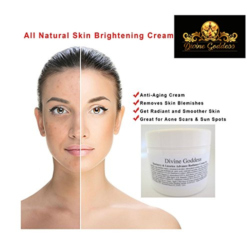 Skin Whitening and Lightening Cream Dark Spot Corrector with Kojic Acid Powder,Bearberry,Alpha Arbutin Powder,AHA,Licorice Root,CQ10,coenzyme Q10 ()