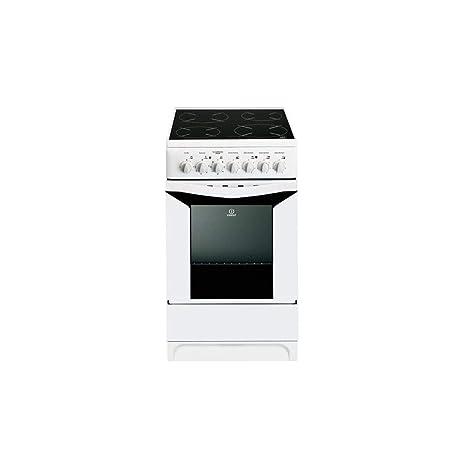 Indesit k3 C51wfrs - Cuisiniere 50 cm vitrocéramique: Amazon ...
