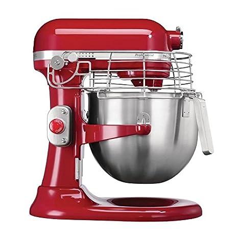 KitchenAid 5KSM7990XBER Mezclador de alimentos tipo planetario, 6,9 L, color rojo: Amazon.es: Industria, empresas y ciencia