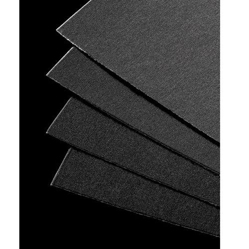 UART Grade 400 Dark Premium Sanded Pastel Paper - 18'' x 24'' Ten Pack by UART