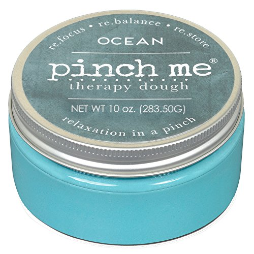 Pinch Me Therapy Dough - Holistic Aromatherapy Stress Relieving Putty - 10 Ounce Ocean Scent