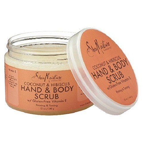 SheaMoisture Coconut & Hibiscus Hand & Body Scrub - 12 oz