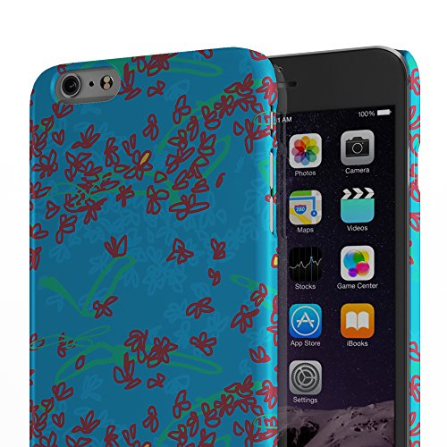 Koveru Back Cover Case for Apple iPhone 6 Plus - Night Lamp in a day Blue Ethy