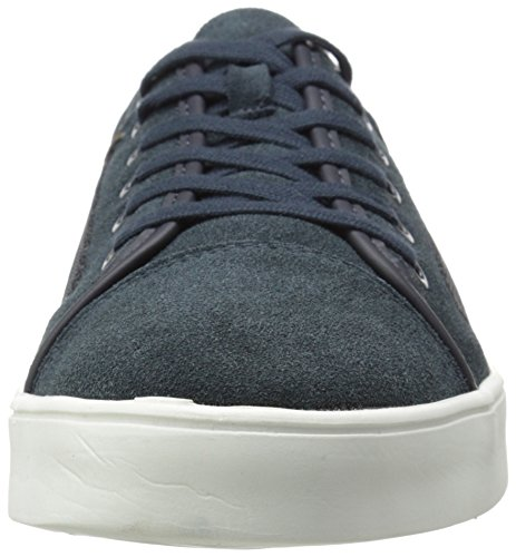 Ck Jeans Uomo Sneakers In Nylon Lamonte Scamosciato Moda Mezzanotte