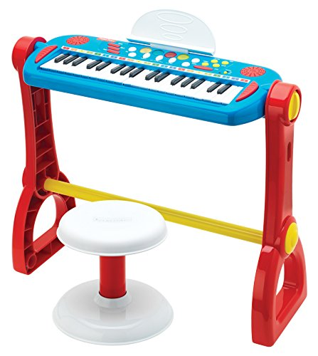 Fisher Price Play Along Keyboard With Stool Accessories