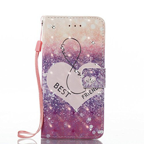 Galaxy j5 2016지갑 케이스,IKASEFU PU레더3d Bling Diamond Shiny Sparkle Glitterfolio flip 보호 커버 크레디트 카드 홀더 스탠드 마그넷 개폐식 부착Samsung Galaxy j5 2016 IKASEFU00002227