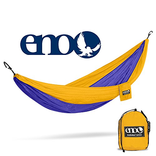 ENO - Eagles Nest Outfitters DoubleNest Hammock, Portable Hammock for Two, - Eagles Stuff Football
