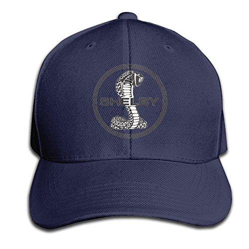 Ford Cobra Logo Flat Bill Hat Adjustable Cap Baseball Hat