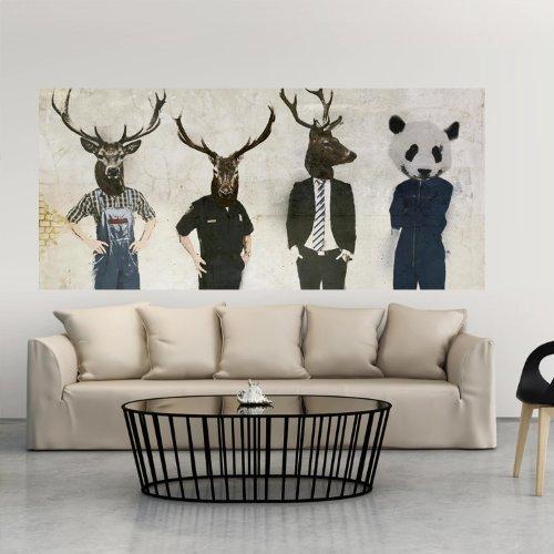Wand Bilder Panels 227x100 cm ! Top Deko Tapete XXL Panorama Abstrakt Vlies FotoTapete XXL 11010901-7