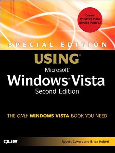Special Edition Using Microsoft Windows Vista (2nd Edition) Pdf
