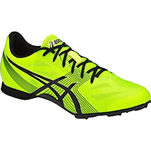 ASICS Men's Hyper MD 6 Track and Field Shoe - G502Y.0790 (Safety Yellow/Black - 9)