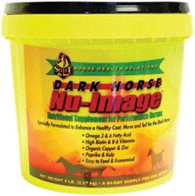 Dark Horse Nu-Image Hoof & Coat Support For Horses, 5 lb