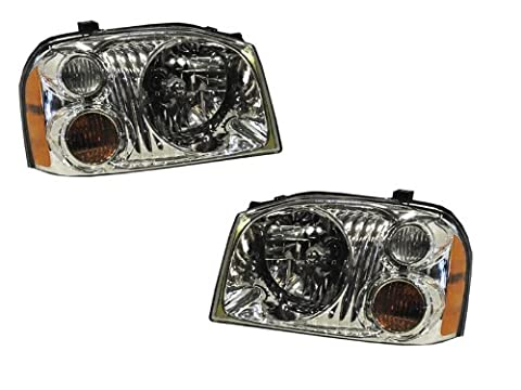 Nissan Frontier Headlights OE Style Replacement Headlamps Pair Set New - Nissan Frontier Headlight Replacement