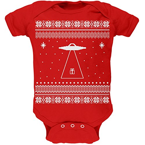 Alien Beam Ugly Christmas Onesie