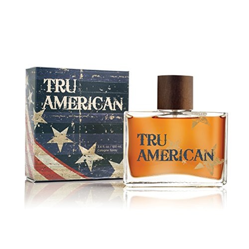 Tru American Cologne by Tru Fragrance and Beauty - Natural and Authentic Fragrance Spray Perfume for Men - Fresh, Bold and Masculine Scent - 3.4 oz, 100 ml from Tru Fragrance & Beauty
