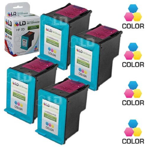 LD Remanufactured Ink Cartridge Replacement for HP 95 C8766WN (Color, ()