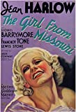 The Girl from Missouri Poster Movie 11x17 Jean Harlow Lionel Barrymore Franchot Tone Lewis Stone