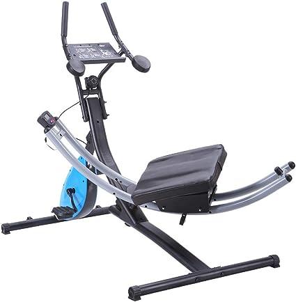 GFDDZ 2-en-1 Abdominal Crunch Coaster Bicicleta de Ejercicio ...