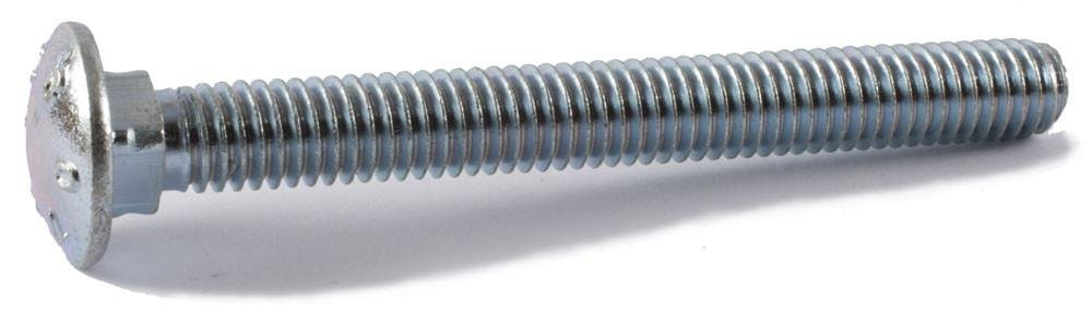 3 Long 5//8-11 Thread Size 3 Long Pack of 25 Asymmetrical Pack of 25 Steel 5//8-11 Thread Size Brighton-Best International 489142 Round Zinc-Plated Square-Neck Carriage Bolt