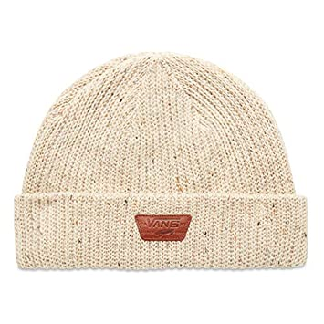 9bf4bb3fd36 Vans Mini Full Patch Beanie -Fall 2018-(VN0A2X2Z7VJ1) - Natural - One Size   Amazon.es  Deportes y aire libre