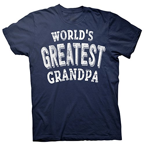 Father's Day Grandpa Gift - World's Greatest Grandpa - T-Shirt - (Worlds Greatest Grandpa T-shirt)