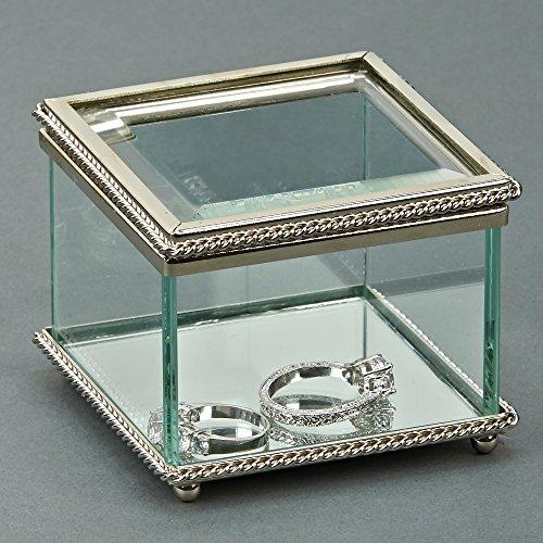Creative Gifts Square Glass Keepsake product image