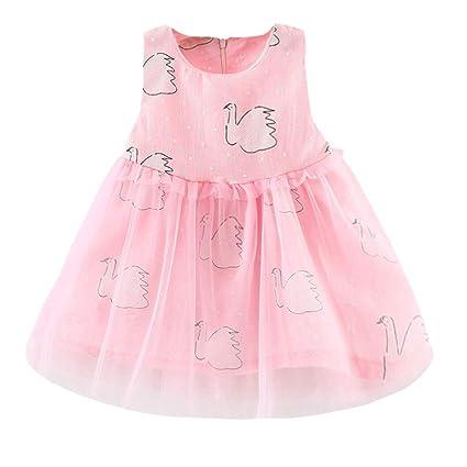8e4b86cad Amazon.com  ❤ Mealeaf ❤ Infant Toddler Baby Kids Girls Dress ...