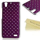 Huawei G630 Case - Mavis's Diary Simple Shiny Bling Diamond Design with