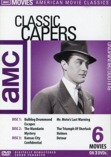 AMC: Classic Capers (Bulldog Drummond Escapes / The Mandarin Mystery / Kansas City Confidential / Mr. Moto's Last Warning / The Triumph of Sherlock Holmes / Detour)