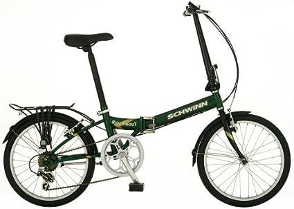 Amazon com : Schwinn Run-a-Bout 20-Inch Folding Bike : Folding