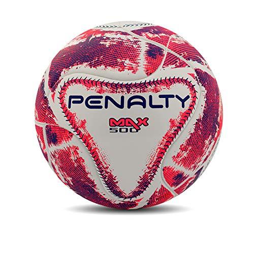 Bola Futsal Max 500 Term IX Penalty 64 cm Branco