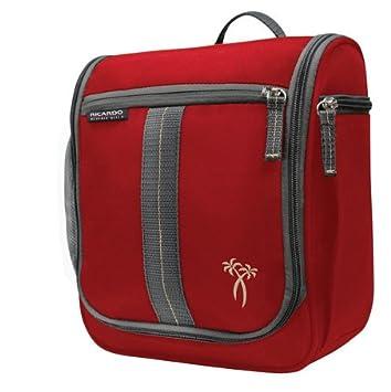 Amazon.com  Ricardo Beverly Hills Luggage Essentials Travel Organizer,  Ribbon Red, One Size 71a5a5eb2c