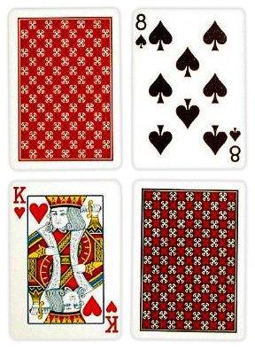 Amazon.com: Copag Poker Tamaño Regular Índice Juego de ...